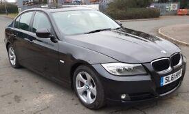 BMW 320D 2011 61 EFFICIENT DYNAMICS, BLACK, £20 YEAR ROAD TAX