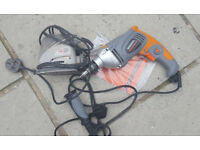 Terratek 1050W electric Hammer drill and small mouse sander both not working ,spares or repair