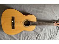 Fender acoustic ESC80 3/4 guitar kids childs beginners MINT condition.