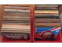 Vintage vinyl - around 150 records
