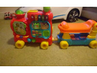 push and ride alphabet train