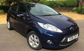 Ford FIESTA (2011) Diesel - Hatchback Metallic Blue