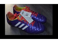 ADIDAS MENS 11 PRO TRX FG PROFESSIONAL FOOTBALL BOOTS UK SIZE 11.5 NEW WITH TAGS/BOX