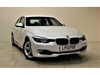 BMW 3 SERIES 2.0 320D SE 4d AUTO 182 BHP (white) 2013