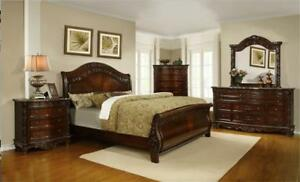 WHOLESALE FURNITURE WAREHOUSE LOWEST PRICE GUARANTEED WWW.AERYS.CA 6PCS BEDROOM SET STARTS FROM $399