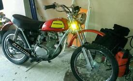Honda sl 100k2