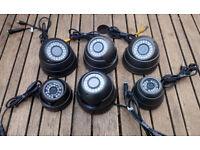 6X CCTV SONY CHIPSET SURVEILLANCE CAMERAS - NIGHT VISION 2.0 MP