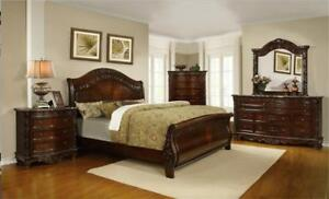 6PCS. BEDROOM SET STARTING FROM $399. CALL 4167437700