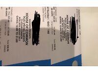 Madness tickets.