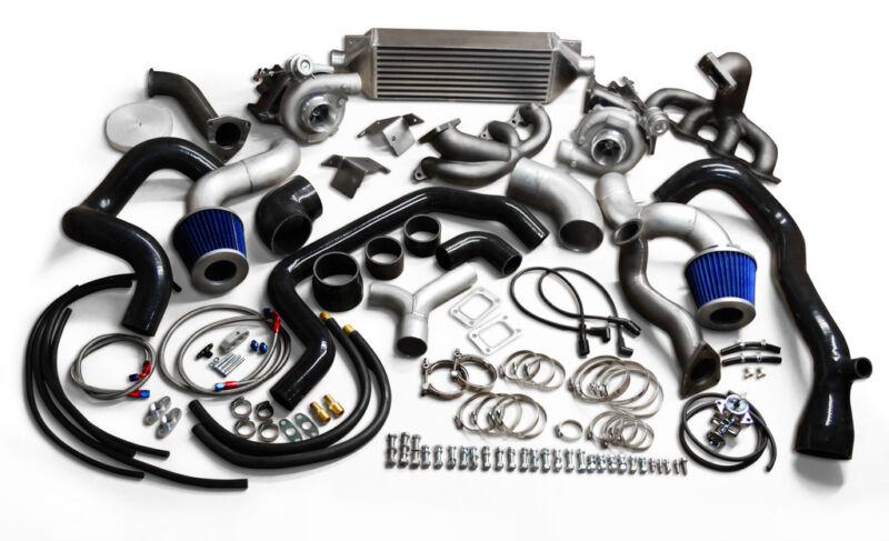 Twin-Turbo-Kit-Vortec-1000HP-2007-2019-Silverado-Sierra-V8-LS-4 8L