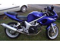 Suzuki SV650S, 47BHP Restricted A2 Compliant, Ideal first big bike