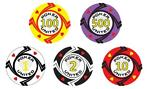 Poker Set 1000 Stuks Keramisch Pokerchips Hearts