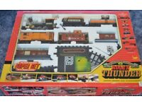 Vintage Train Set The Rio Grande Railroad Rollin Thunder from 1986 – from a smoke free home