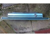 Renault 5 Turbo front bumper grill 1993 Light Blue