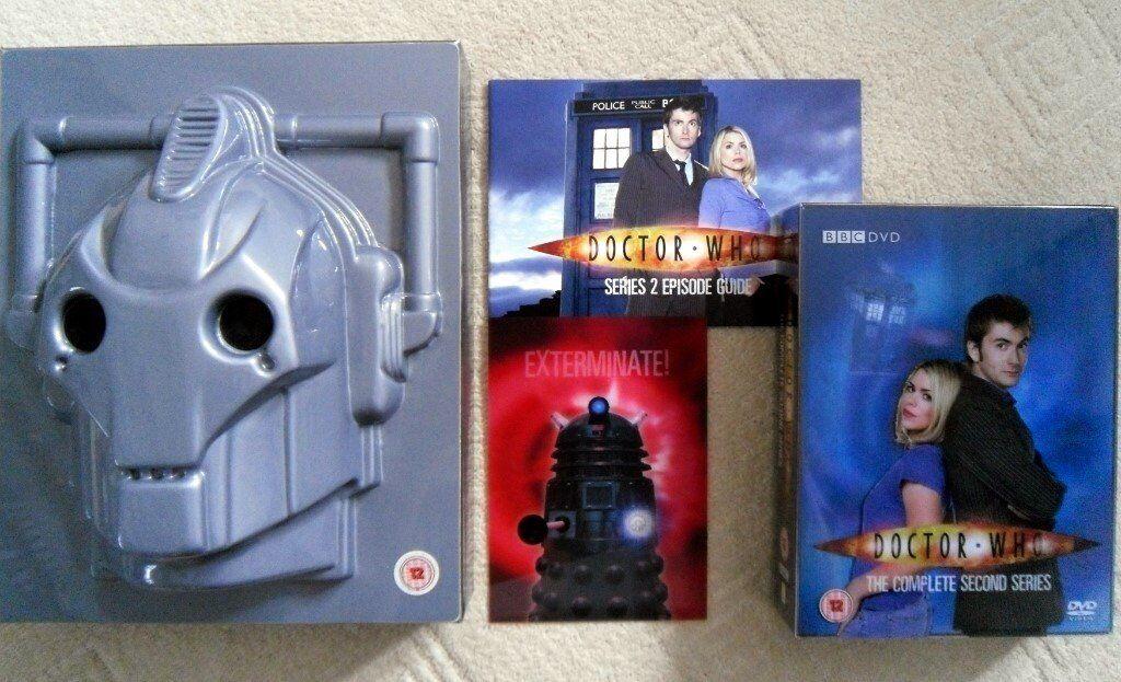 Dr Who Season 2 DVD Collectors Box Set - David Tenant