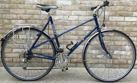 23inch Classic Vintage Dawes LADIES Mixte Touring BIKE Town Bicycle with mudguards rack