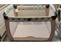 Toddler travel cot Graco