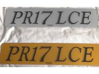 Number Plates PRINCE