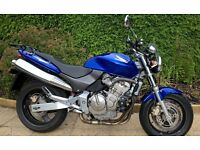 Honda Hornet CB600 for sale. 1999 - only 7600 miles. Immaculate condition. New MOT Feb 17.