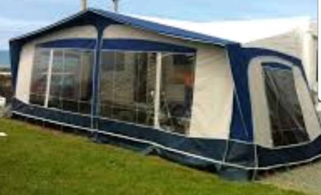 Bradcot Residencia Caravan Awning 2003 1050 With B Room Steel Poles