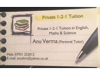 11+ Grammar Exam Preparation, English, Maths, Science Tutor in Bournemouth/ Poole