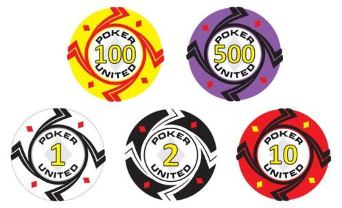 Poker Set 1000 Stuks Keramisch Pokerchips Diamonds
