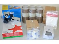Job Lot - New Packaging Tape Dispensers, Packaging Tape, Poly Bags, Address Pouches & Laser Labels