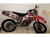 Crf450 motorcross bike