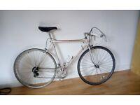 Beautiful vintage peugeot road bike - new housing/pedals/inner tube/bar tape