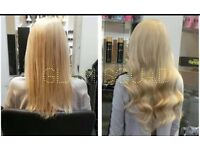 Hair extensions russian 7A grade the VERY BEST hair SALE £180 rrp £420, micro ring, bonds,