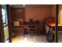 Short term home office / workspace available for hire during the day