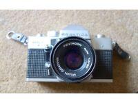 Praktica MTL3 SLR Camera + Lenses