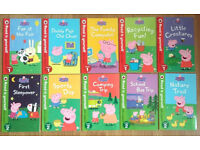NEW Ladybird READ IT YOURSELF Peppa Pig Collection 10 Books