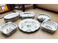 Royal Worcester 'Herbs' 8 piece crockery Set