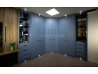 Fitted Wardrobes - Bespoke Fitted Wardrobes London (Price Shown is for Quotation Only)