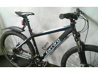 """Carrera Vengeance Bike FULLY WORKING size:Large with 27.5"""" wheels"""