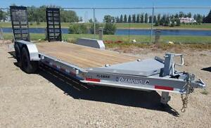2016 Diamond C 19LPX Equipment Hauler Trailer