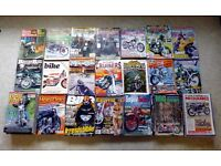 Motorcycle Magazine Collection from the 70's/80's/90's/00's