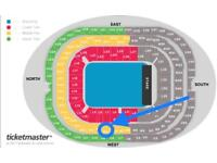 Eminem tickets - Seated Saturday 14th July (Close seats)