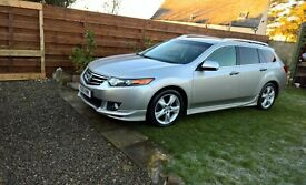 Honda Accord 2.2i-dtec es gt estate 2010 61000 miles!!!