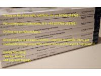 NEW!! 2018 CFA Level 1 Schweser Notes HARD COPY BOOKS - PHYSICAL PAPERBACK PRINT EDITION Full Set I
