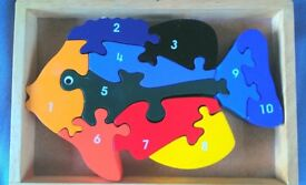 Wooden toy - 3 for £8