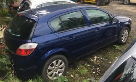 BREAKING - 2006 Vauxhall Astra H - 1.8 AUTO