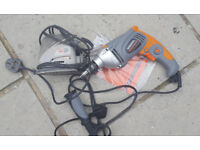 new Terratek 1050W electric Hammer drill and small mouse sander both not working ,spares or repair