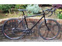 Raleigh based custom built steel winter racer/cross bike – Harrogate
