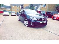 VW GOLF MK6 GT TDI DSG GTD, REAR LEDS, FRONT XENONS, FULLY SPECED, LEATHERS, NAV, FULL SERVICE, AUTO