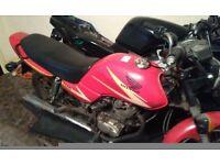 Honda nsr 125 honda cg 125