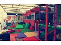 New soft play cafe