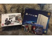 Ps4 pro white glacier + EXTRAS! **brand new**