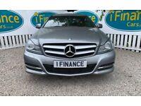 CAN'T GET CREDIT? CALL US! Mercedes-Benz C220 2.1CDI Executive SE, 2013 - £200 DEPOSIT, £77 PER WEEK